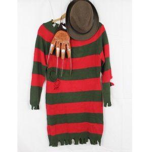 Nightmare on Elm Street Freddy Costume Size L